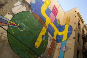Street art Raval Barcelona