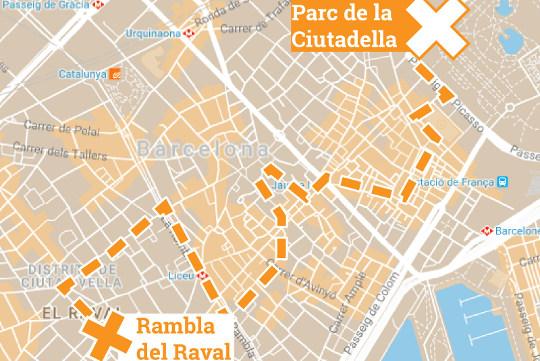 Activité EVJF Chasse au trésor à Barcelone