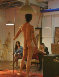 Activité dessin de modèle nu à Barcelone