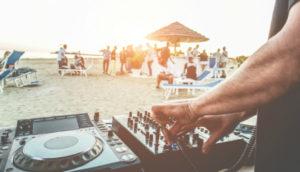 Fiesta plage Barcelone weekend EVJF