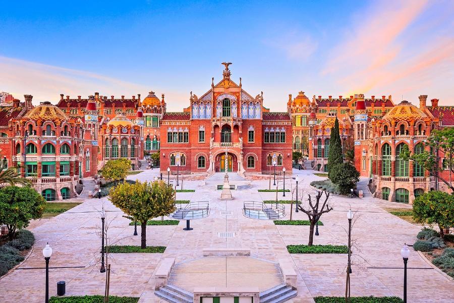 Visite de l'Hopital Sant Pau un incontournable à Barcelone