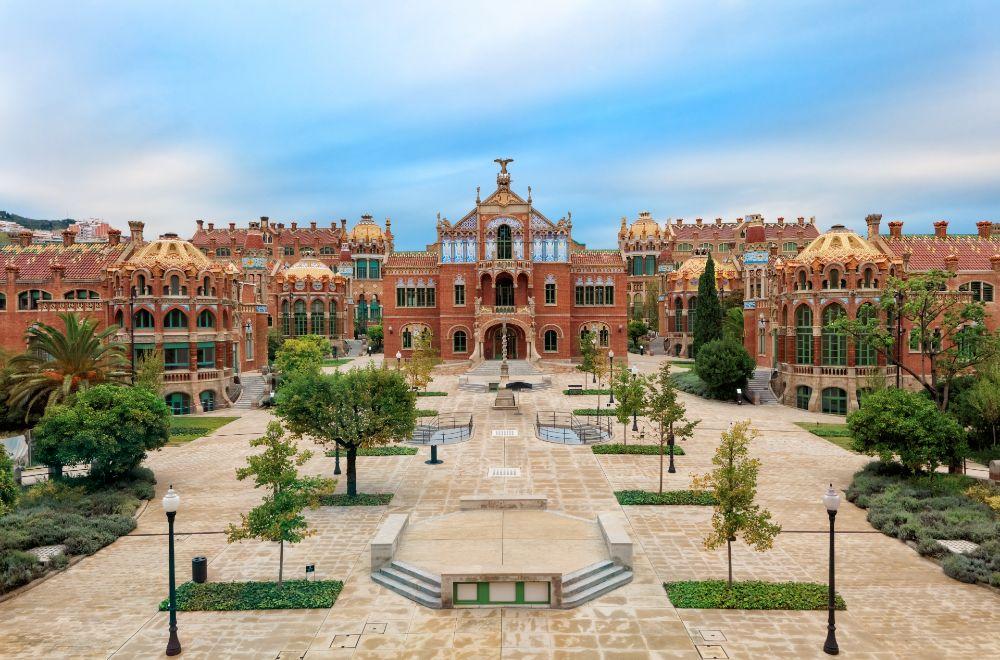 Hospital Sant Pau à Barcelone